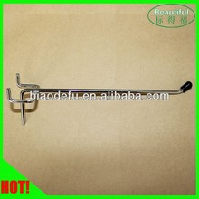 Hot! Single prong metal display peg hook