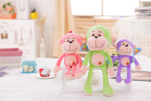 lovely new style wholesale custom long arms and legs plush hanging monkey toy(ASTMF963)