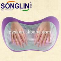 Hot Selling Electric Home Using Purple Shiatsu Massage Pillow