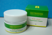 Face whitening acne scar freckle removal and black spot removal cream