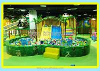 kids lower price indoor smart playground with tunnel silde equipment swing
