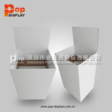 2 cells retail cardboard dump bins