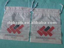 2012 -BZbeautiful palstic Drawstring Handle Packaging Bag