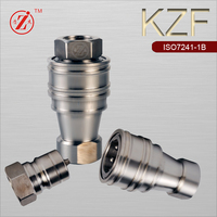 KZF stainless steel hydraulic quick shaft connector