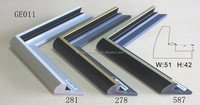 picture photo frame mouldings for canvas ge011 w54 h42mm