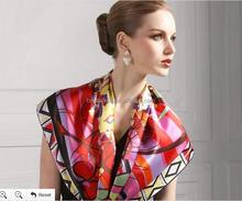 Stylish 100% Silk Printed Scarf