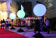 2014 wedding stage decoration ball/christmas and party led stand balloon