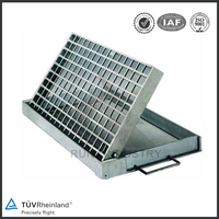 china manufacturer galvanized welded steel grating walkway