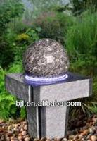 garden stone ball fountain