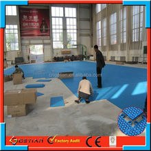 customized color price flooring basket ball professional