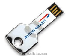 Customized Flash Drive Usb, 8GB Metal LOGO Usb Flash Memory, Key usb memory