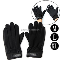 Brand New Mens Black Full Finger Gloves Military Tactical Outdoor Car/Motor Sports Airsoft M/L/XL