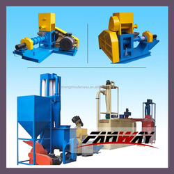 Catfish tilapia fish food pellet machine plant cost