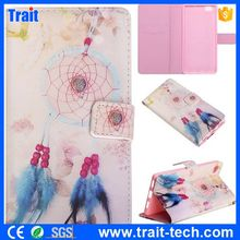 Embossment Pattern Wallet Magnetic Flip Stand Leather Case for Huawei Ascend P8 Lite