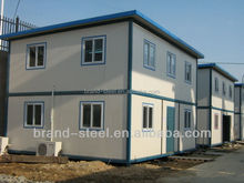 two story prefab light steel structure wood siding mobile homes