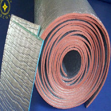heat resistant pipe insulation and roof heat insulation materials