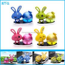 Love Rabbit car perfume seat bottle cartoon table instrument perfume seat Air freshener