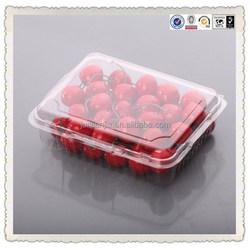 Eco-friendly 500g fresh fruit/cherry/strawberry plastic box