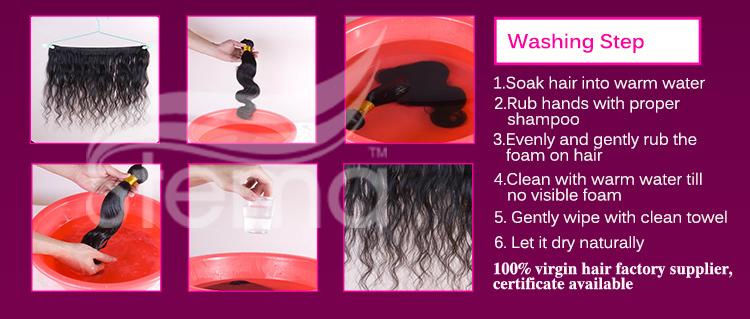 Hot Sell 6A Grade Human 100% Virgin Peruvian Hair