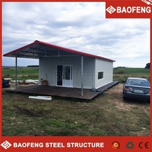 stackable and foldable green low cost bamboo prefabricated house