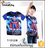 wholesale 2015 hot sale children cool superman 100% cotton short sleeve kids t shirt