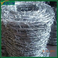 Galvanized barbed wire /antique barbed wire for sale /used barb wire for sale