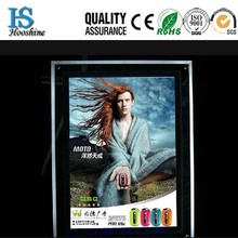 hot sale A4 led slim crystal picture/photo/poster frame,8mm