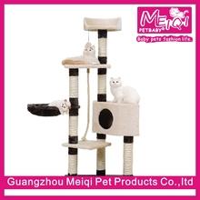 high quality sisal cat scratcher cardboard cat tree house wholesale