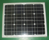 Small size with quality assurance 12V 30W monocrystalline solar modules