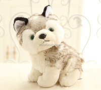 wholesale touch super soft plush toy stuffed animal toy cute dog doll novelty puppet husky toy kids birthday gift party gift