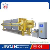 1500 Hydraulic high pressure PP Mebrane Filter Press