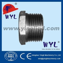 Forged Stainless steel 316 NPT Thread Hex head plug