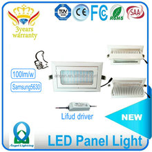 Rectangular led downlight 60 adjustable 30W/40W/50w/60w Led Down Light CE RoHS approved