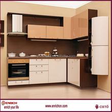 De diseño libre Mueble de cocina de madera sólida