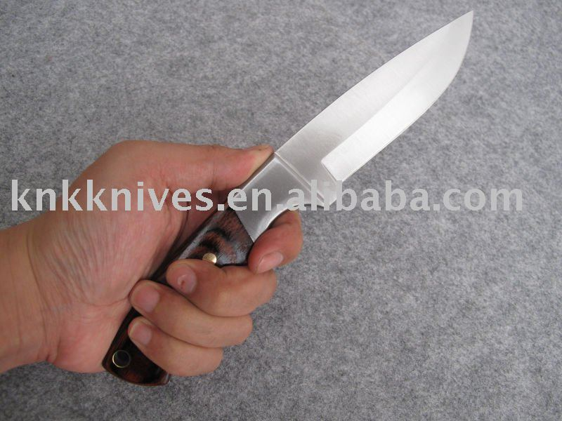 Pakka bois couteau de chasse