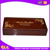 OEM factory wooden oil boxes with rapid delivery