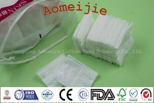 hebei 60ct sanitary cosmetic cotton pad