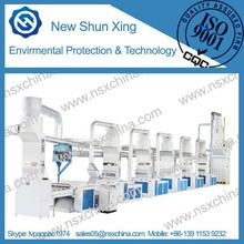 china supplier 2015 High capacity Textile fabric Yarn Waste Recycling Machine LINE NSX-FS500 On sale Good price Factory price