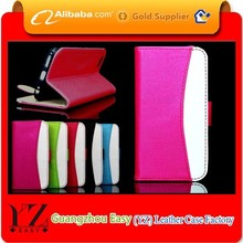 New products in alibaba wallet case for htc droid dna
