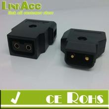 Linkacc14i D-Tap Connector Kit Jack Plug for Anton Bauer PowerTap Batteries, Power Supplies