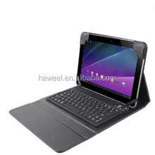 Bluetooth Keyboard Folding Leather Case for Samsung Galaxy Tab 10.1 / P7510 / P7500 etc.