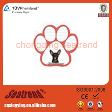 Promotional Custom Sticky Printing Base Card Dog Paw Magnetic Note Pads
