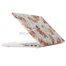 Camellia Pattern Frosted Hard Plastic Protective Case for Macbook Pro Retina 13.3 inch
