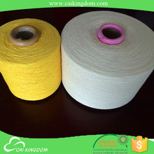 oeko-tex certification great demand flower yarn for hand knitting easy twist dry recycled cotton yarn
