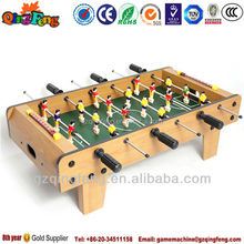 Qingfeng GTI promotion funny two goal kicker game table for kids play