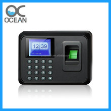 Hot discount Color screen TFT Punch Card Fingerprint Time Clock Attendance machine(Employee Payroll Recorder)
