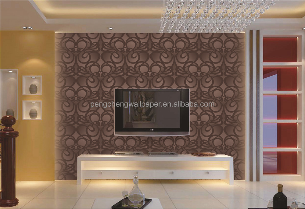 Modern behangpapier woonkamer u cartoonbox