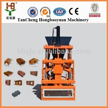 small business at home hby 1-10 earth interlocking brick making technology