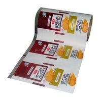 Custom Printed Food Packaging Plastic Film Roll With Best Price