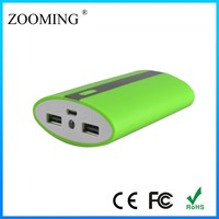LED torch rechargerable battery powerbank 12000mah for iphone